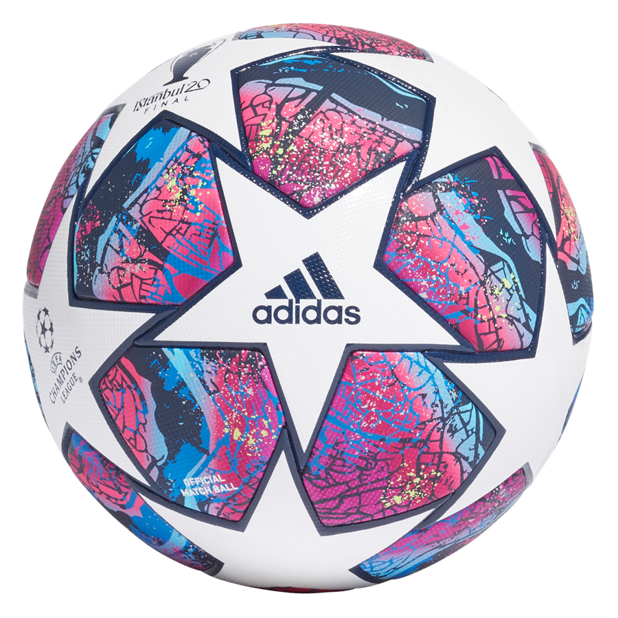 adidas voetbal Champions League Finale Istanbul 2020 Pro OMB wit/donkerrood Afbeelding 3