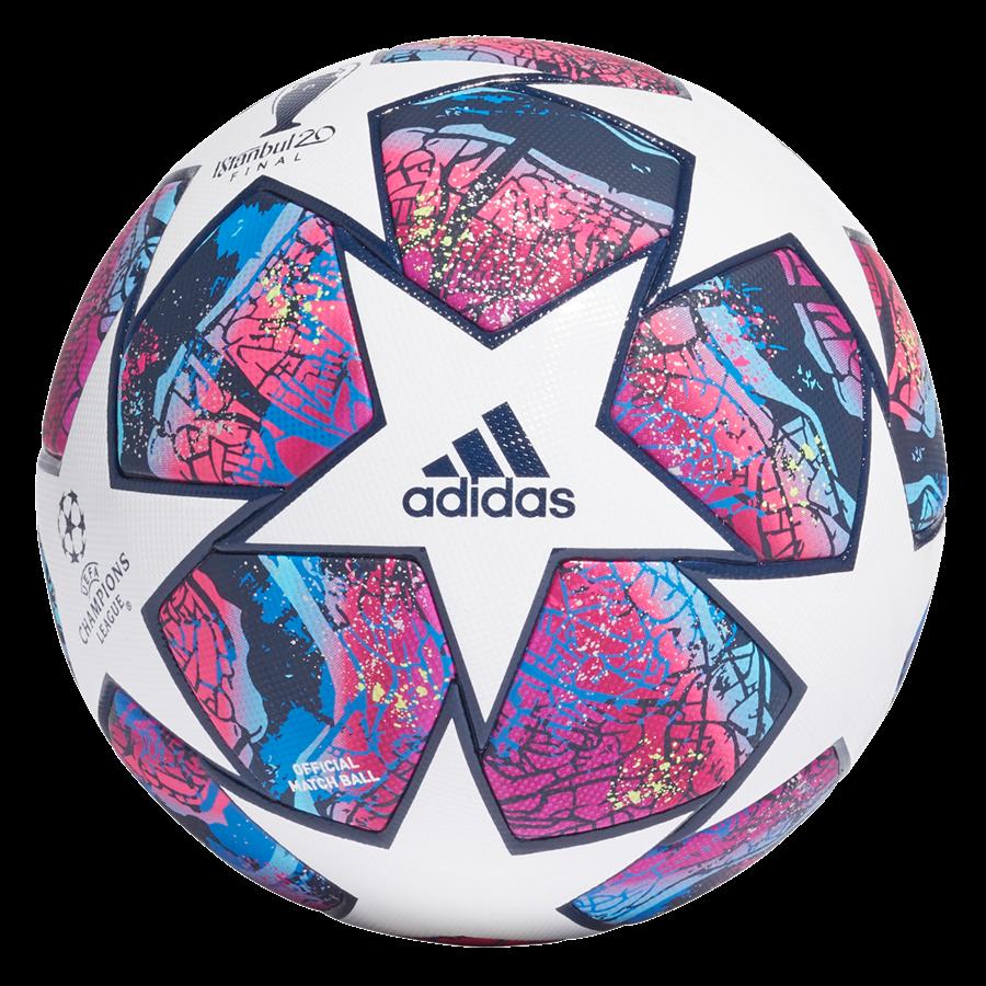 adidas Fußball Champions League Finale Istanbul 2020 Pro OMB weiß/dunkelrot Bild 3
