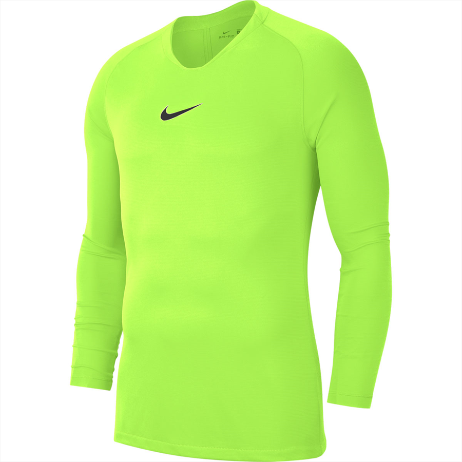 Nike Langarm Funktionsshirt Park First Layer gelb fluo/schwarz Bild 2