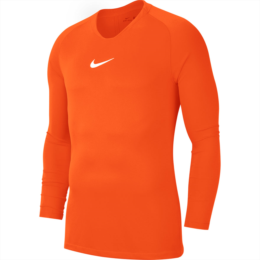 Nike Langarm Funktionsshirt Park First Layer orange/weiß Bild 2