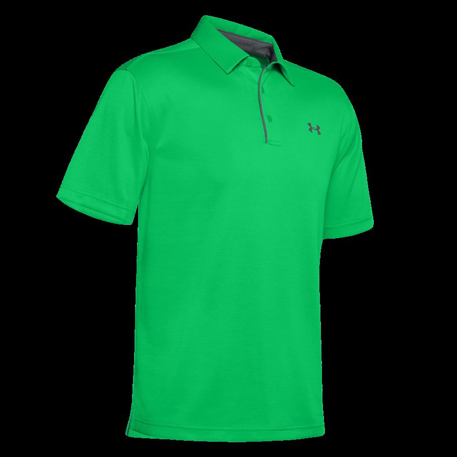 Under Armour Poloshirt Tech grün fluo/grau Bild 2