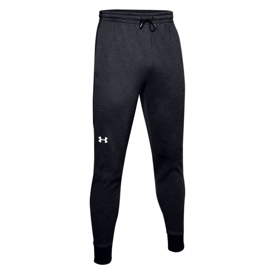 Under Armour Jogginghose Double Knit Jogger schwarz/weiß