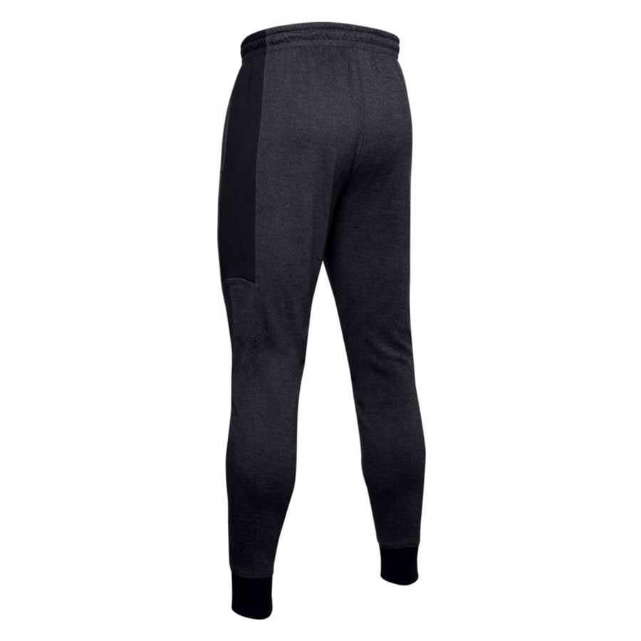 Under Armour Jogginghose Double Knit Jogger schwarz/weiß Bild 3