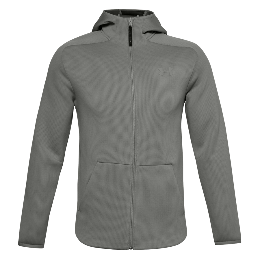 Under Armour Kapuzenjacke Move FZ Jacket grau Bild 2