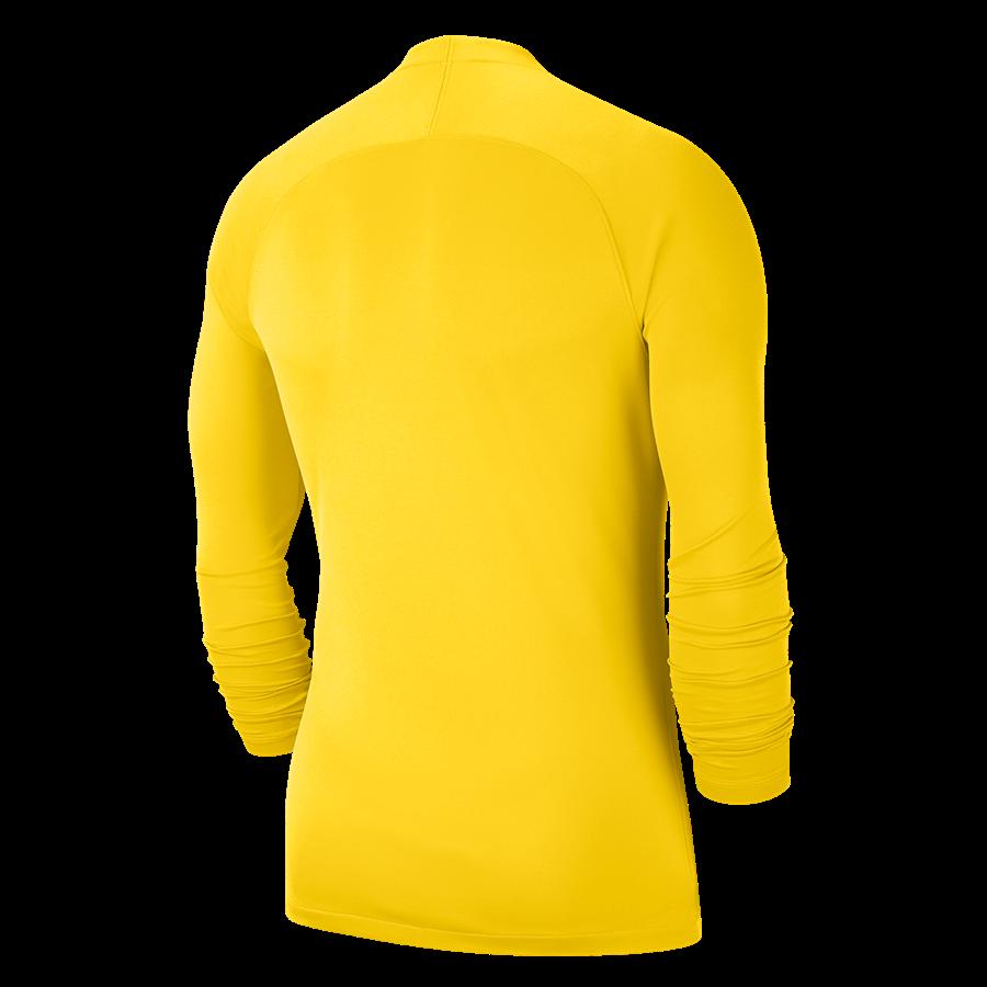 Nike Langarm Funktionsshirt Park First Layer hellgelb/schwarz Bild 3