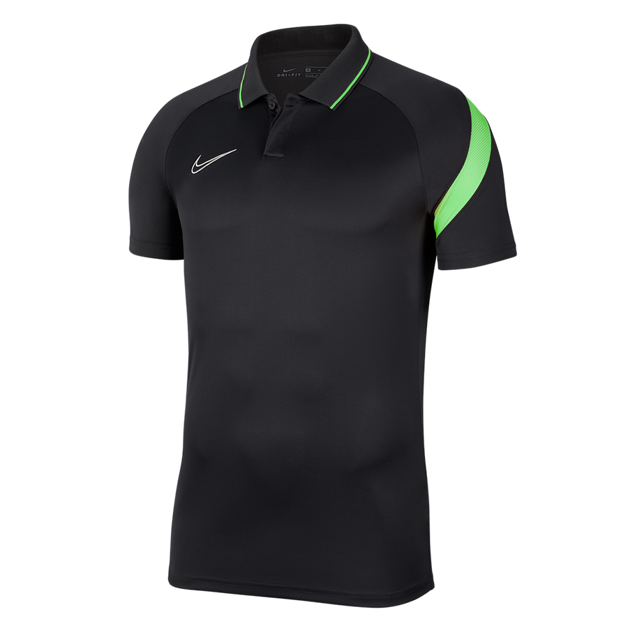 Nike Poloshirt Academy Pro anthrazit/grün fluo Bild 2