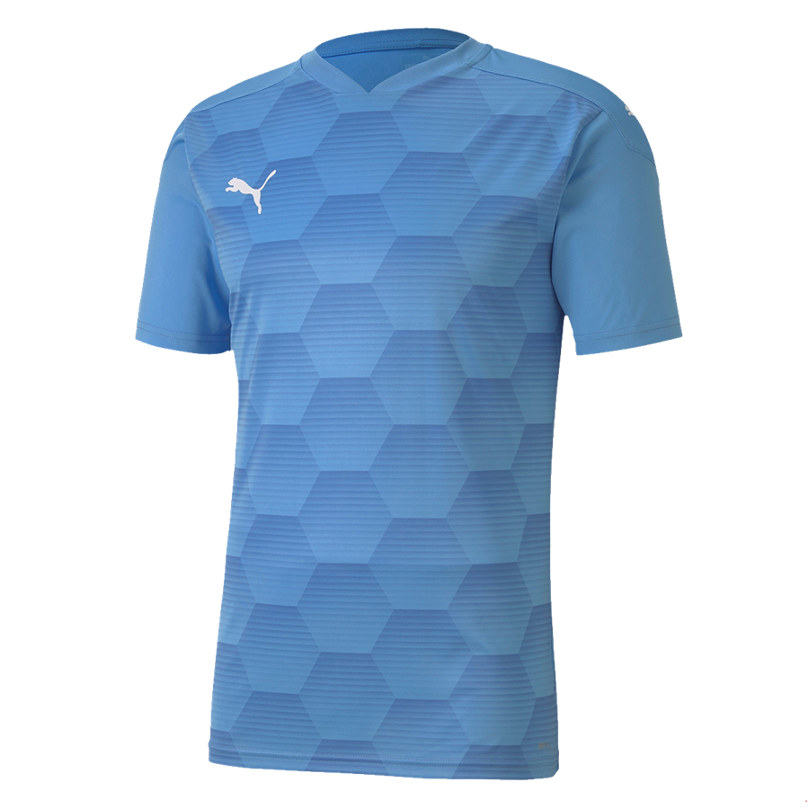 Puma Trikot Team Final 21 Graphic Jersey hellblau/weiß Bild 2