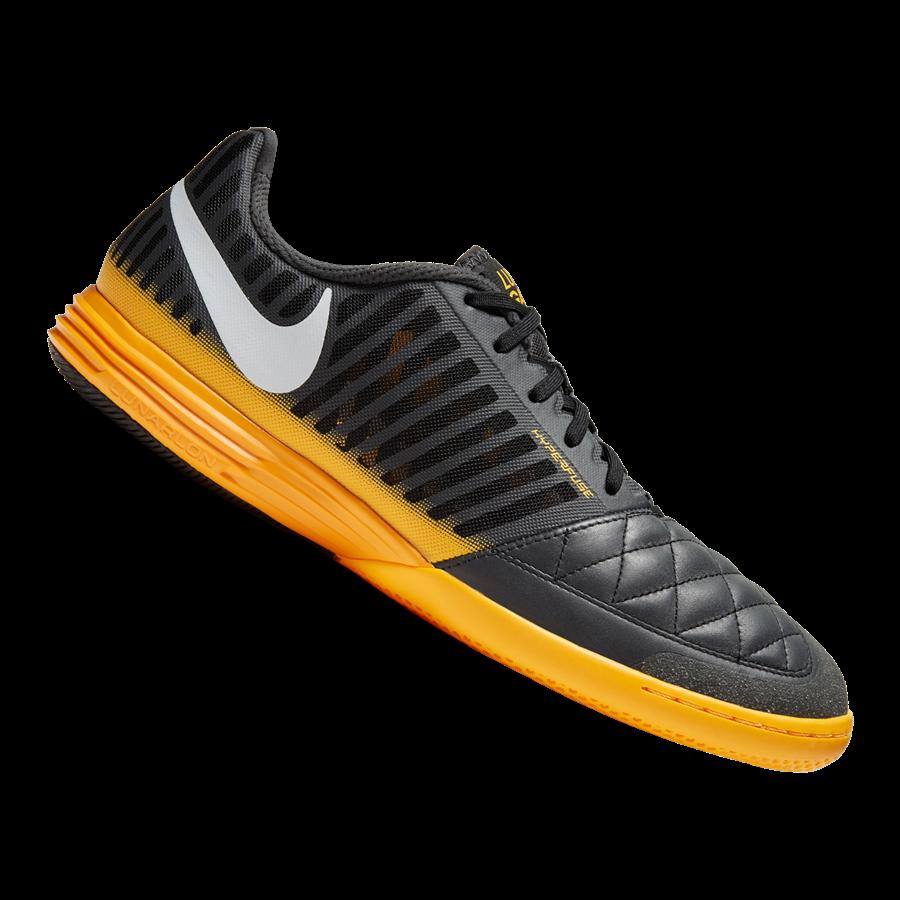 Nike Hallenschuh Lunargato II IC schwarz/orange Bild 2