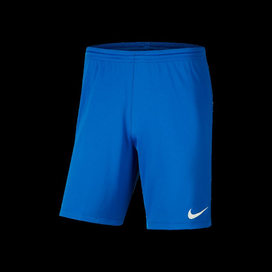 Nike Kinder Short Park III ohne Innenslip blau/weiß Bild 2
