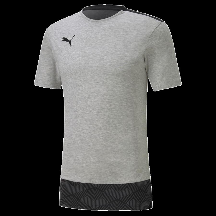 Puma Shirt Team Final 21 Casuals Tee grau/schwarz Bild 2