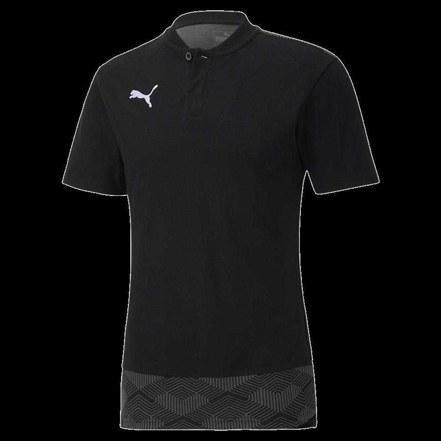 Puma Polo Shirt Team Final 21 Casuals schwarz/grau Bild 2