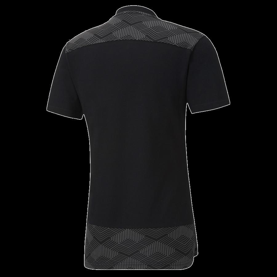 Puma Polo Shirt Team Final 21 Casuals schwarz/grau Bild 3