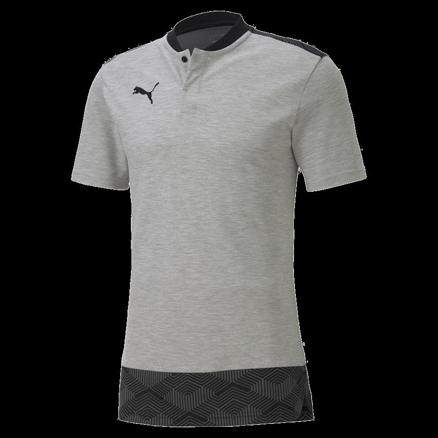 Puma Polo Shirt Team Final 21 Casuals grau/schwarz Bild 2