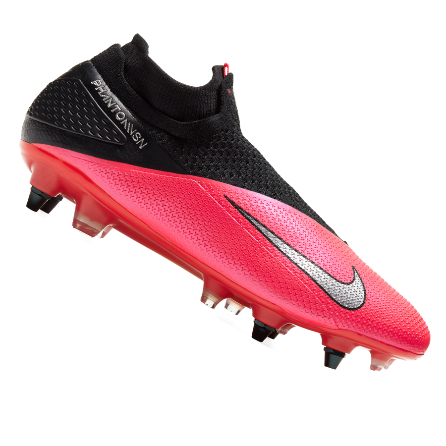 Nike Fußballschuh Phantom Vision II Elite Dynamic Fit SG Pro AC rot/schwarz Bild 2