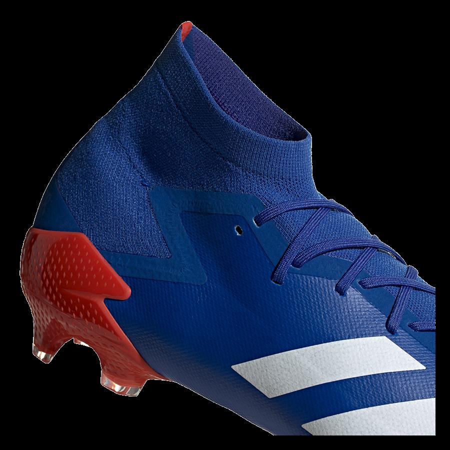 adidas Fußballschuh Predator Mutator 20.1 FG blau/rot Bild 8