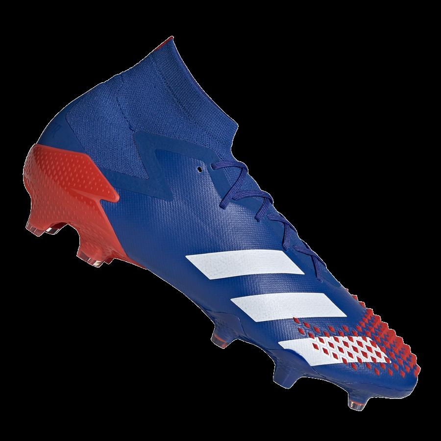adidas Fußballschuh Predator Mutator 20.1 FG blau/rot Bild 2