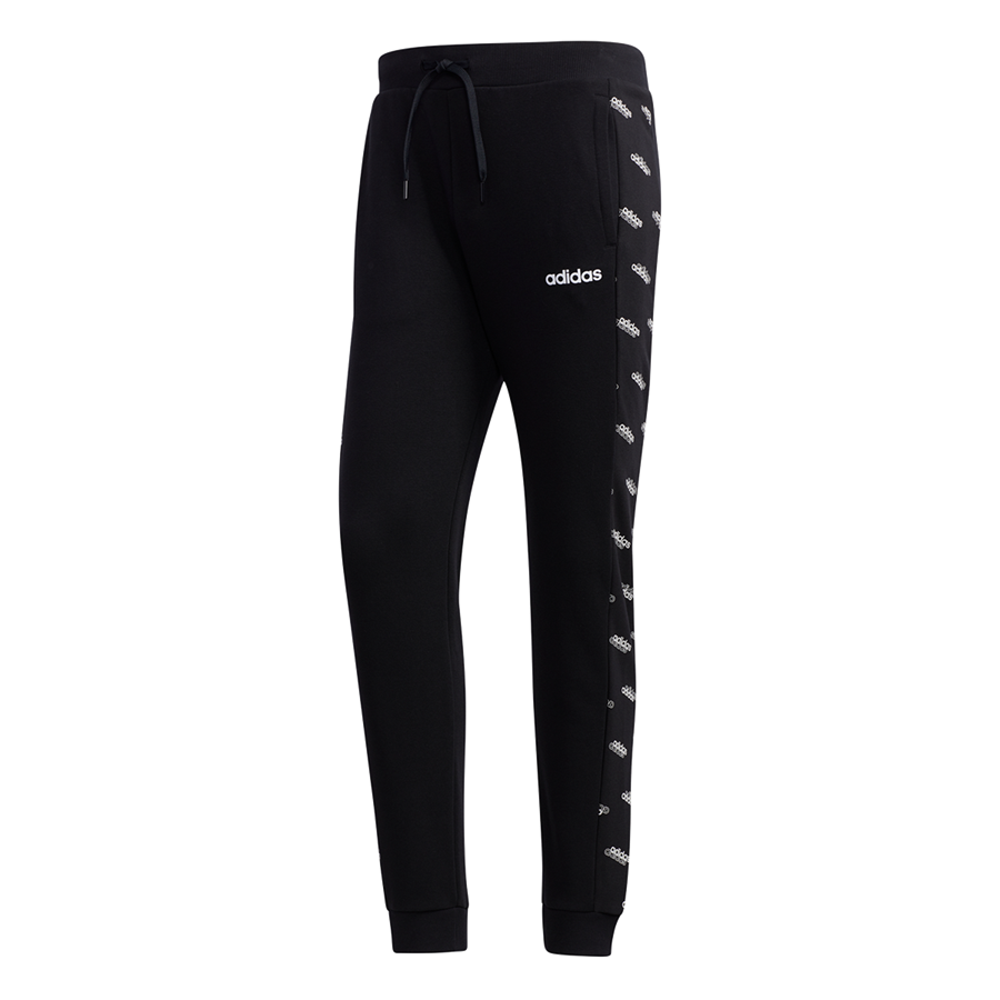 adidas Jogginghose Favourite Knitted Track Pant schwarz/weiß Bild 2