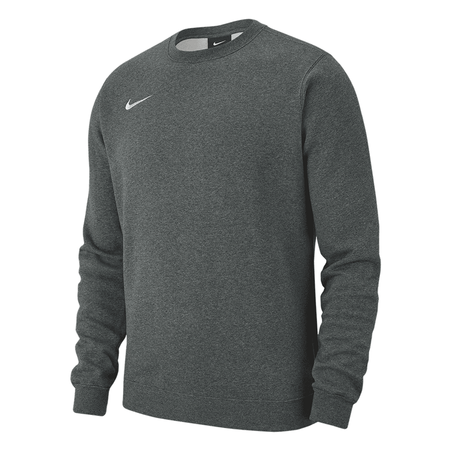 Nike Sweater Fleece Team Club 19 Crew grau/weiß Bild 2