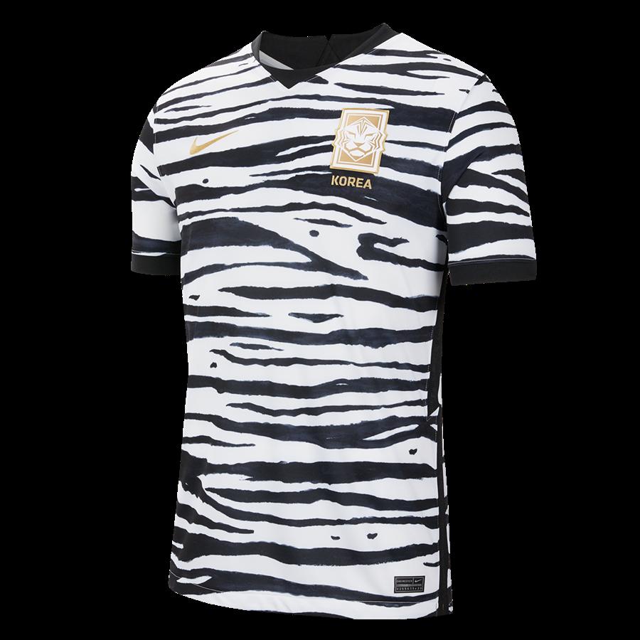 Nike Südkorea Herren Auswärts Trikot 2019/20 weiß/schwarz Bild 2