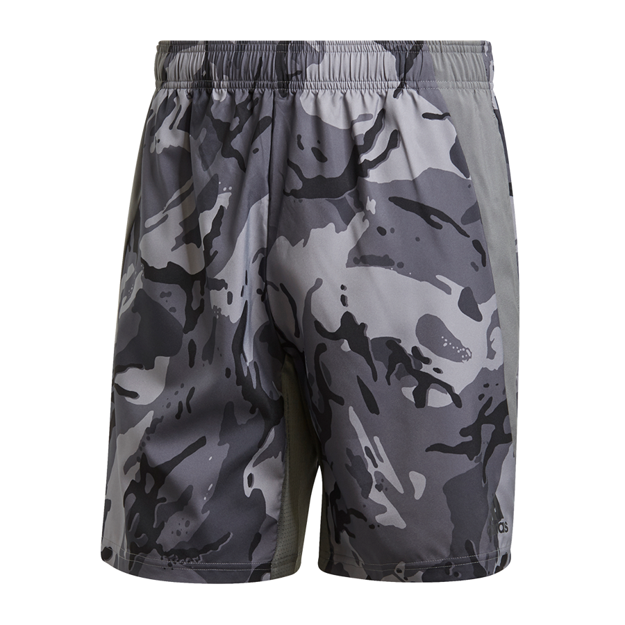 adidas Short D2M Primeblue grau/schwarz Bild 2