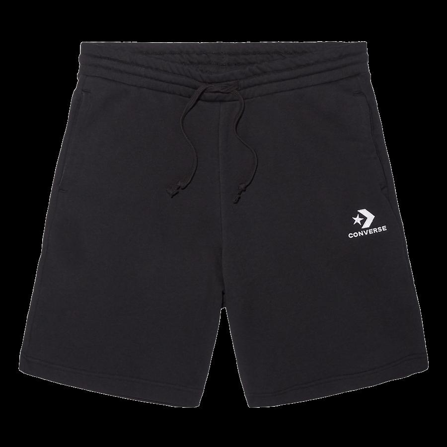 Converse Short Star Chevron EMB Fleece schwarz/weiß Bild 2