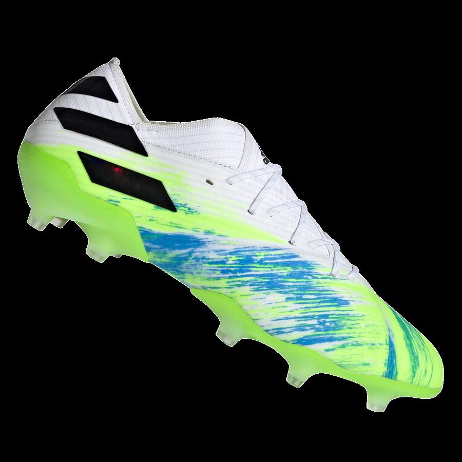 adidas Fußballschuh Nemeziz 19.1 FG weiß/schwarz Bild 2