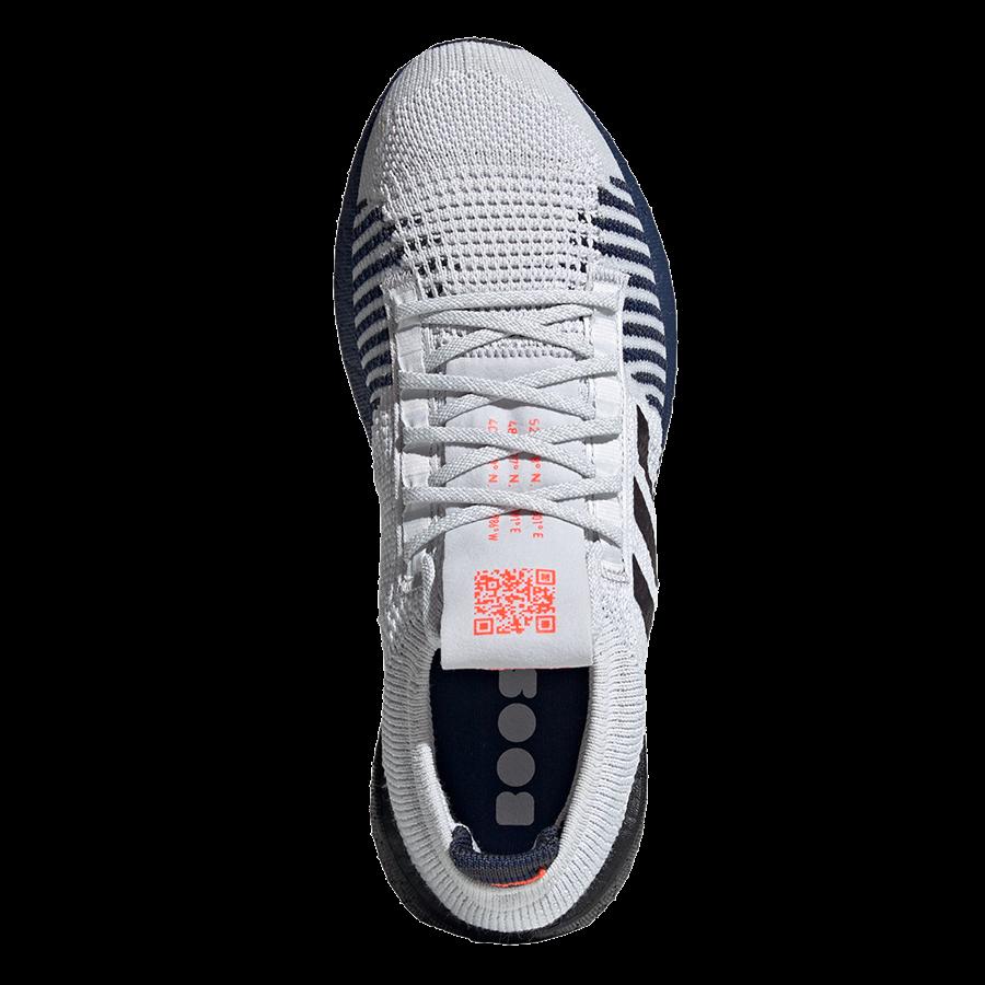 adidas Laufschuh Pulseboost HD M hellgrau/dunkelblau Bild 4