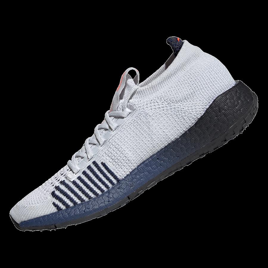 adidas Laufschuh Pulseboost HD M hellgrau/dunkelblau Bild 3