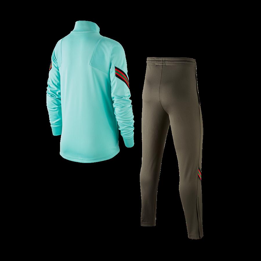 Nike Portugal Kinder Trainingsanzug Strike Track Suit K türkis/rot Bild 3