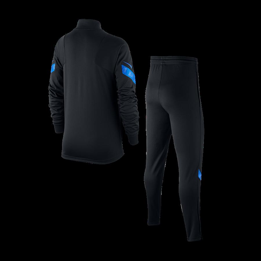 Nike Niederlande Kinder Trainingsanzug Strike Track Suit K schwarz/hellblau Bild 3