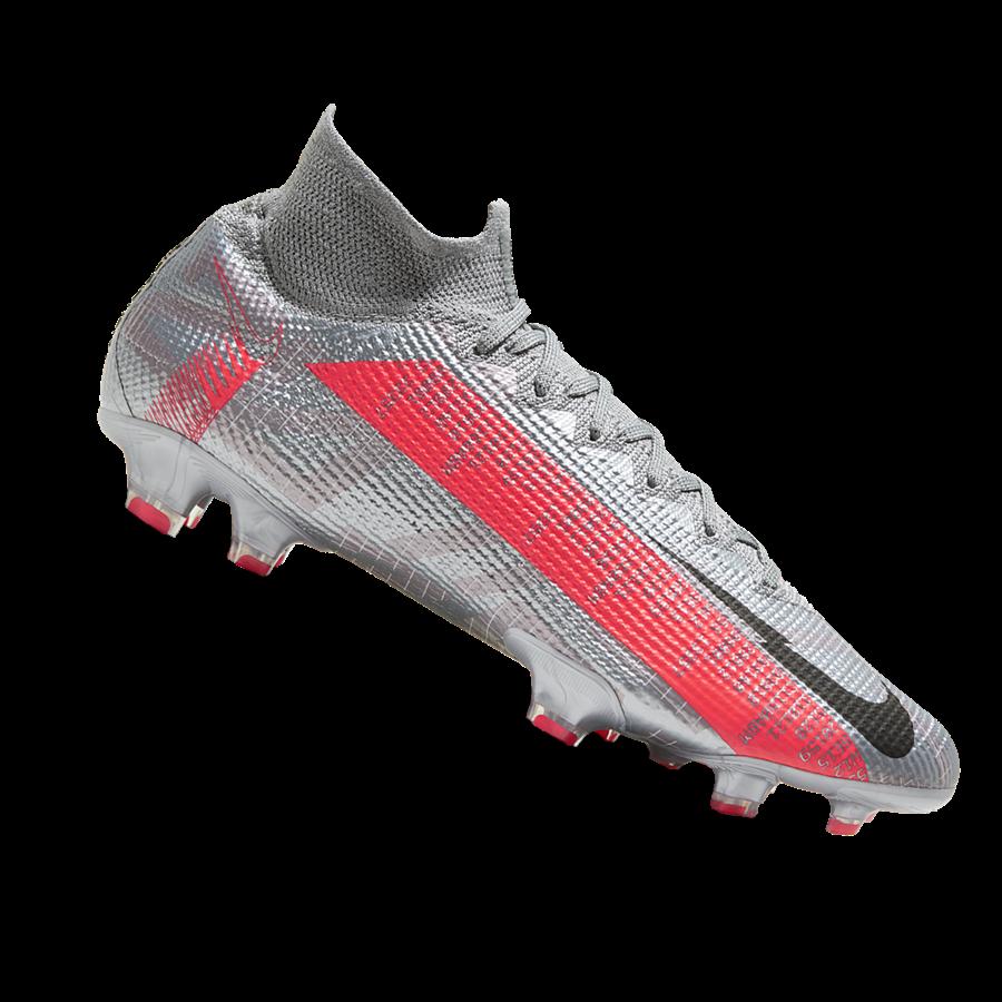 Nike Fußballschuh Mercurial Superfly 7 Elite FG grau/schwarz Bild 2