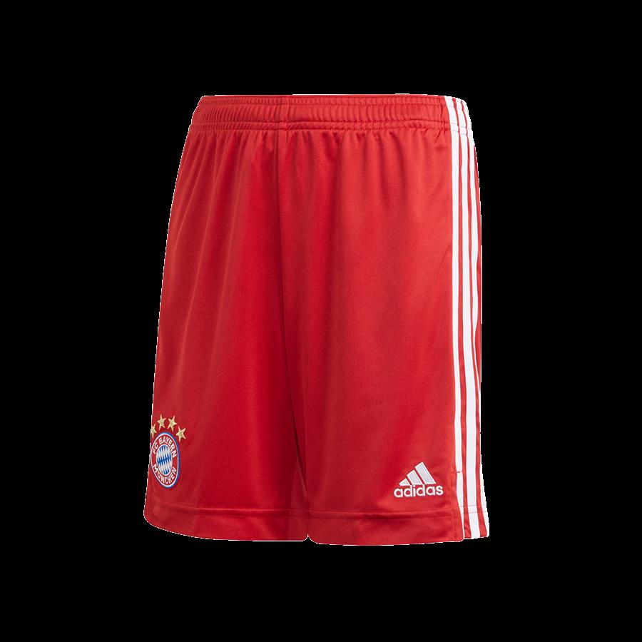 adidas FC Bayern München Kinder Heim Short 2020/21 rot/weiß Bild 2