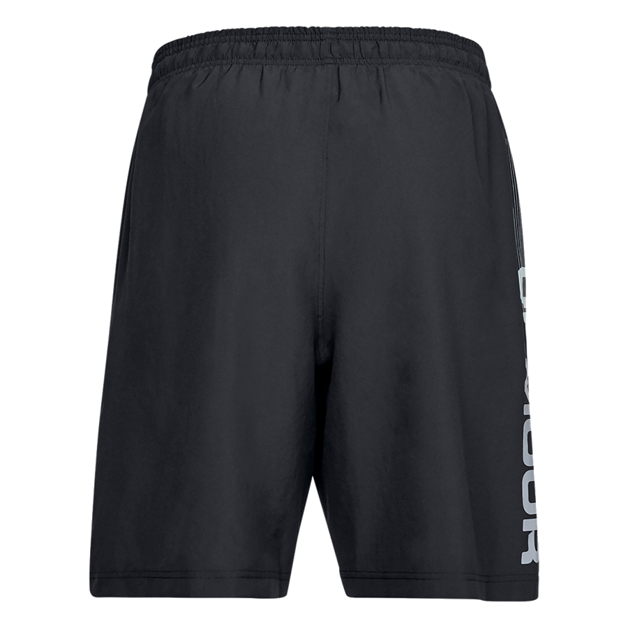 Under Armour Short Woven Graphic Wordmark schwarz/grau Bild 3