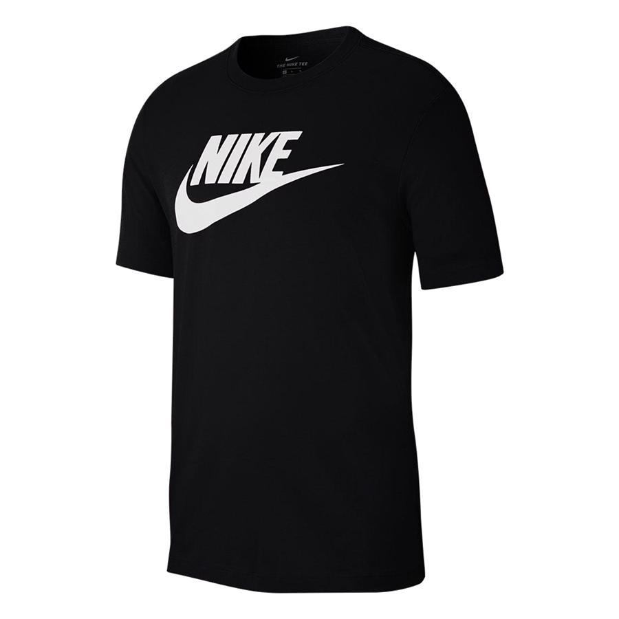 "Nike Shirt Sportswear ""Just do It"" Tee Icon Futura schwarz/weiß Bild 2"