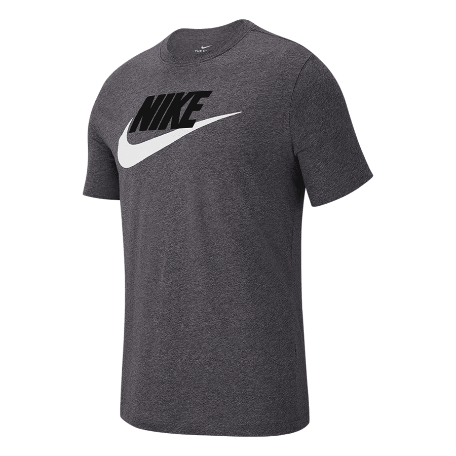 "Nike Shirt Sportswear ""Just do It"" Tee Icon Futura dunkelgrau/weiß Bild 2"
