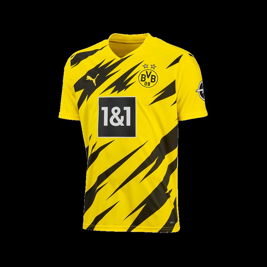 Puma BVB Kinder Heim Trikot 2020/21 gelb/schwarz Bild 2