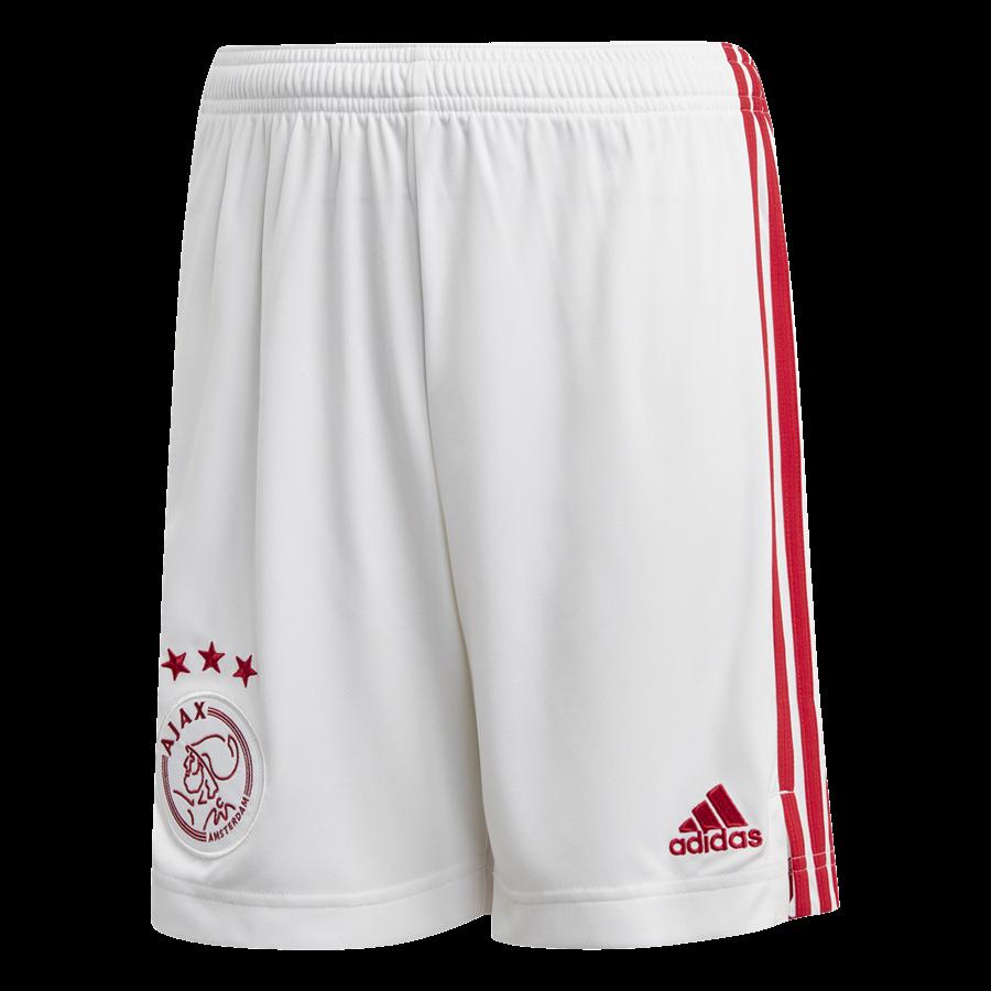 adidas Ajax Amsterdam Herren Heim Short 2020/21 weiß/rot Bild 2