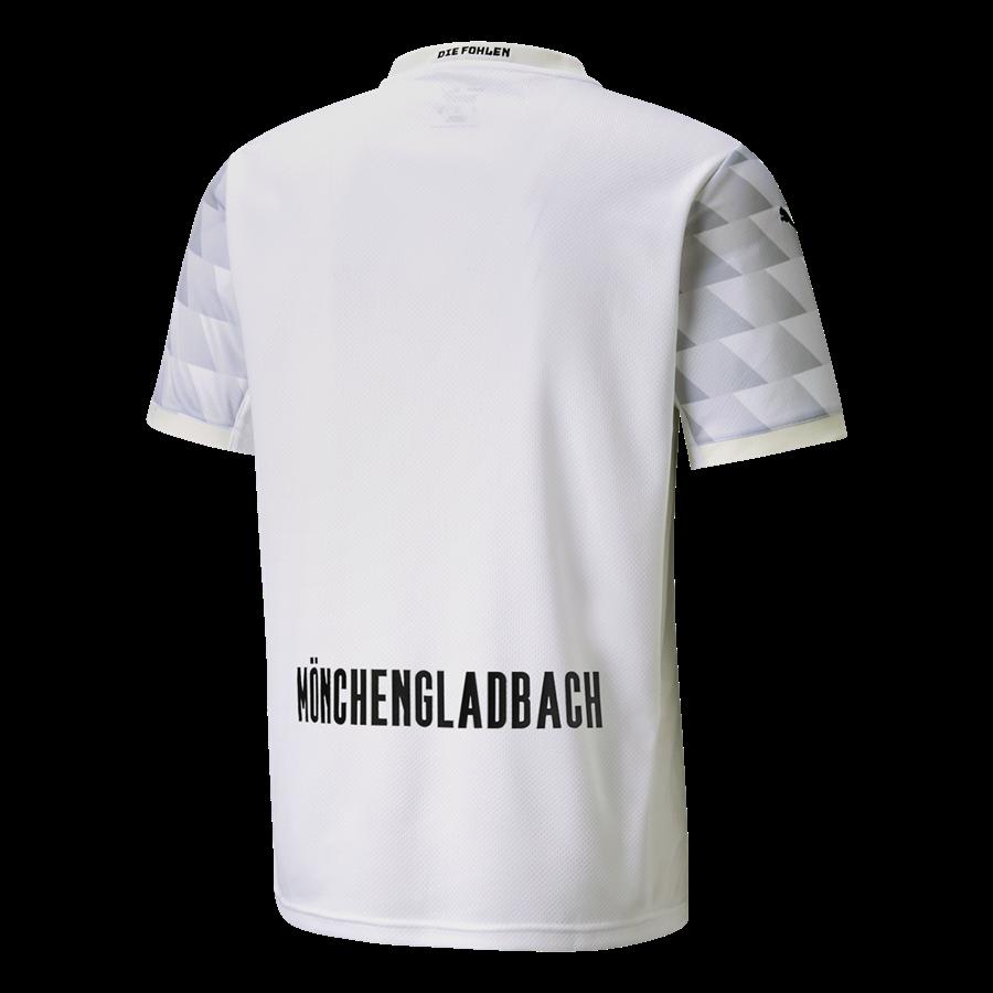 Puma Borussia Mönchengladbach Herren Heim Trikot 2020/21 weiß/schwarz Bild 3