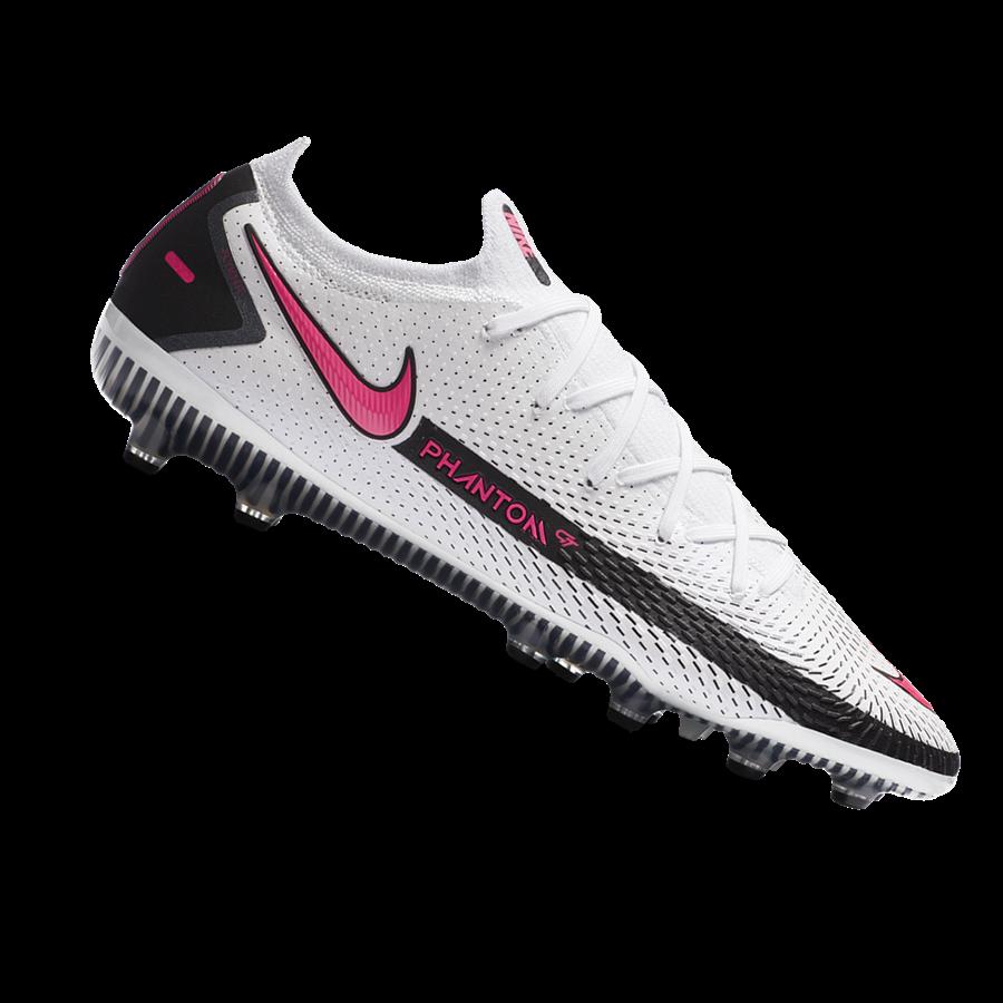 Nike Fußballschuh Phantom GT Elite AG-Pro weiß/pink Bild 2
