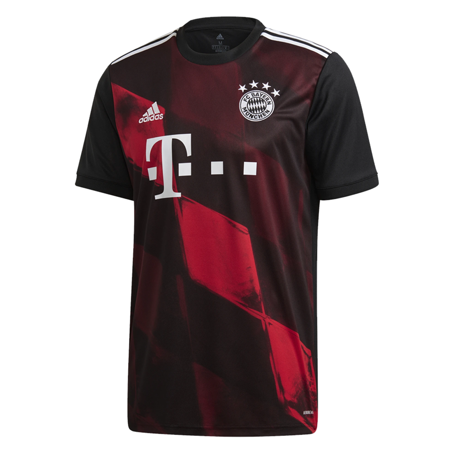 Maillot 3rd adidas FC Bayern Munich pour hommes 2020/21 noir/blanc Image 2