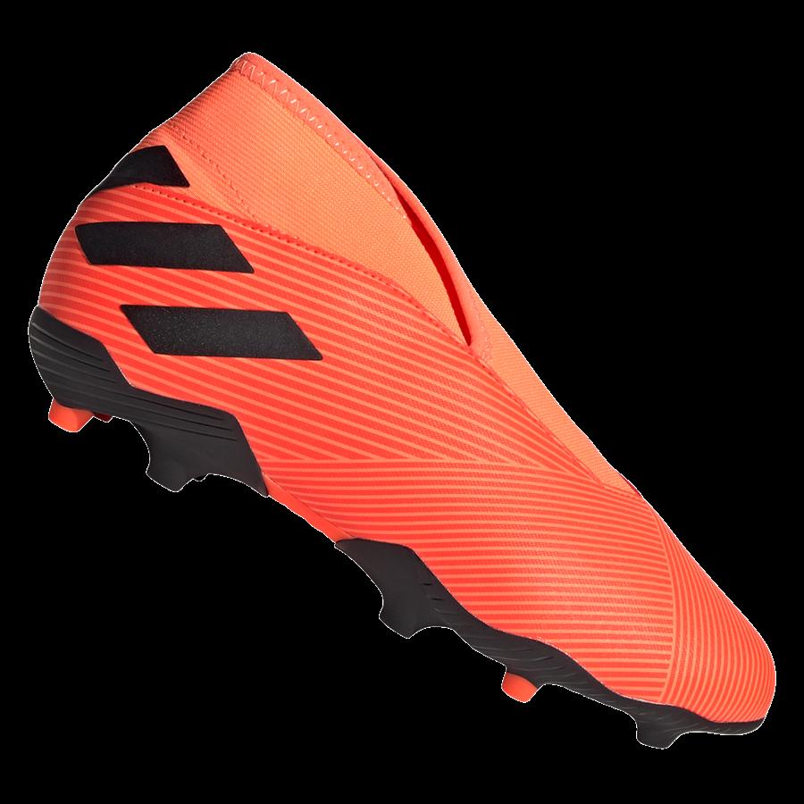 adidas Kinder Fußballschuh Nemeziz 19.3 LL FG J orange/schwarz Bild 2