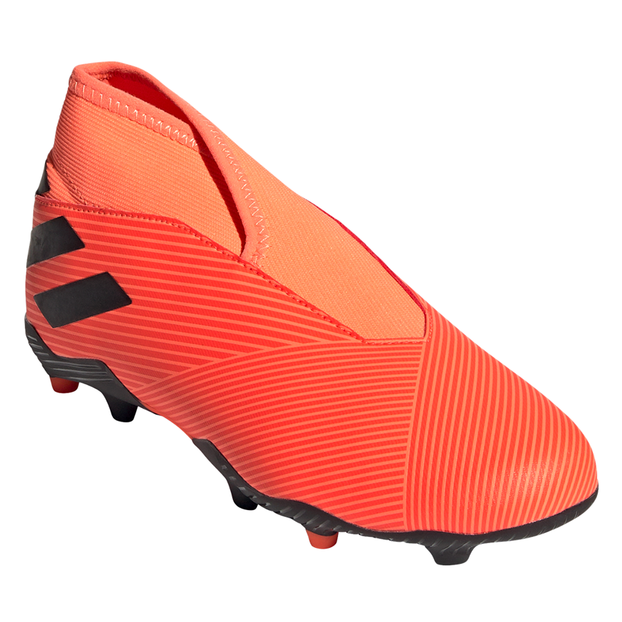 adidas Kinder Fußballschuh Nemeziz 19.3 LL FG J orange/schwarz Bild 9