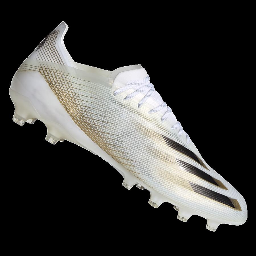 adidas Fußballschuh X Ghosted.1 AG weiß/gold Bild 2