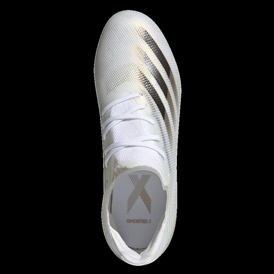 adidas Kinder Fußballschuh X Ghosted.1 FG J weiß/gold Bild 4