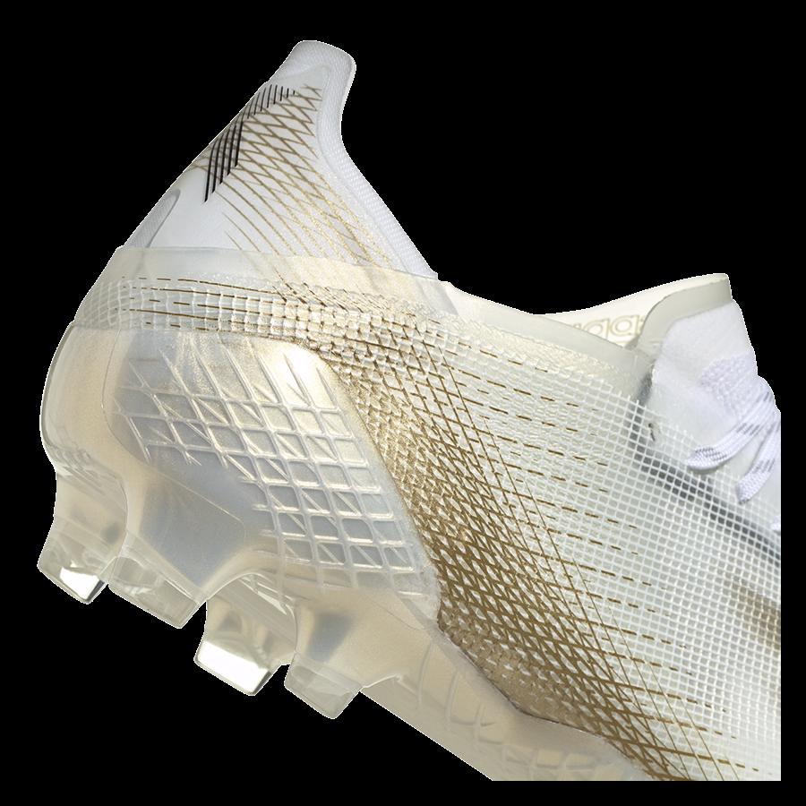 adidas Fußballschuh X Ghosted.1 FG weiß/gold Bild 8