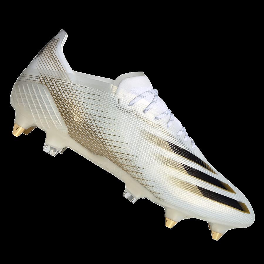 adidas Fußballschuh X Ghosted.1 SG weiß/gold Bild 2