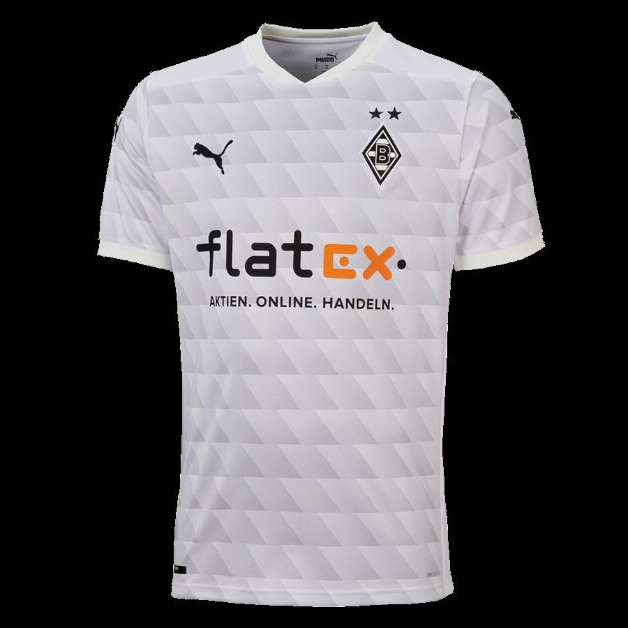 Puma Borussia Mönchengladbach Herren Heim Trikot 2020/21 weiß/schwarz Bild 2