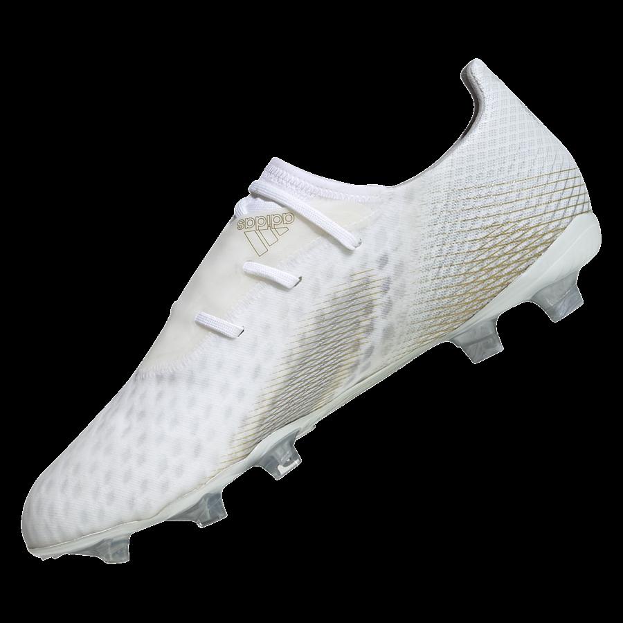 adidas Fußballschuh X Ghosted.2 FG weiß/gold Bild 10
