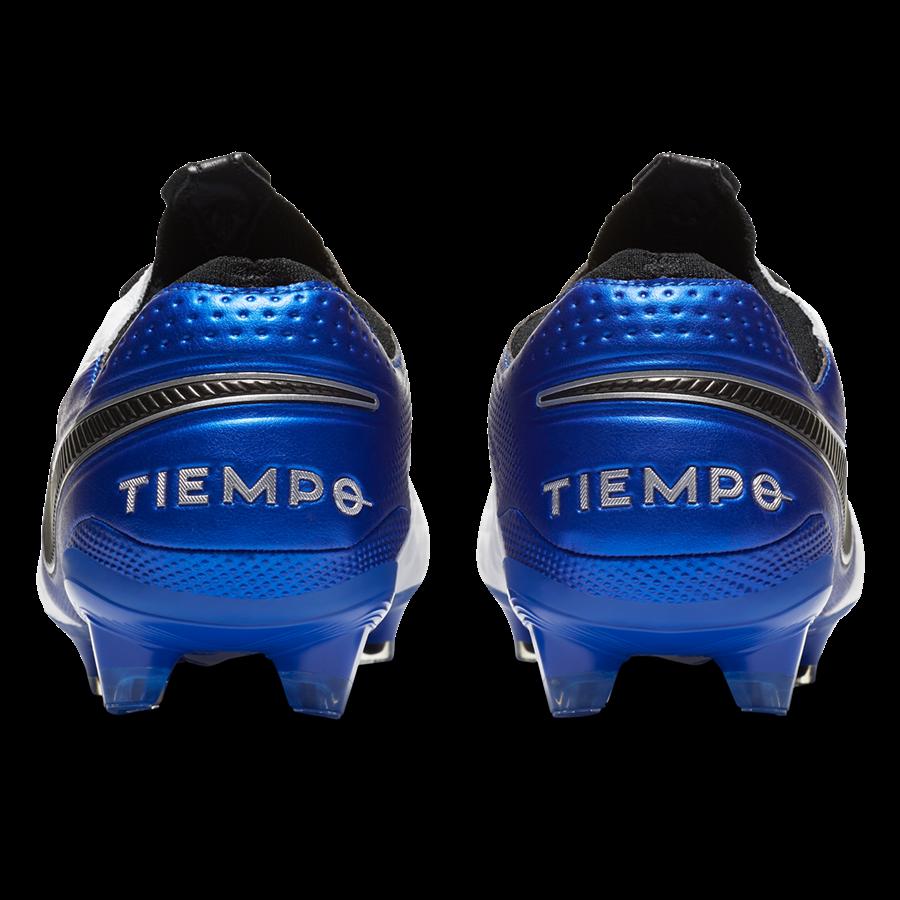 Nike Fußballschuh Tiempo Legend VIII Elite FG weiß/blau Bild 9