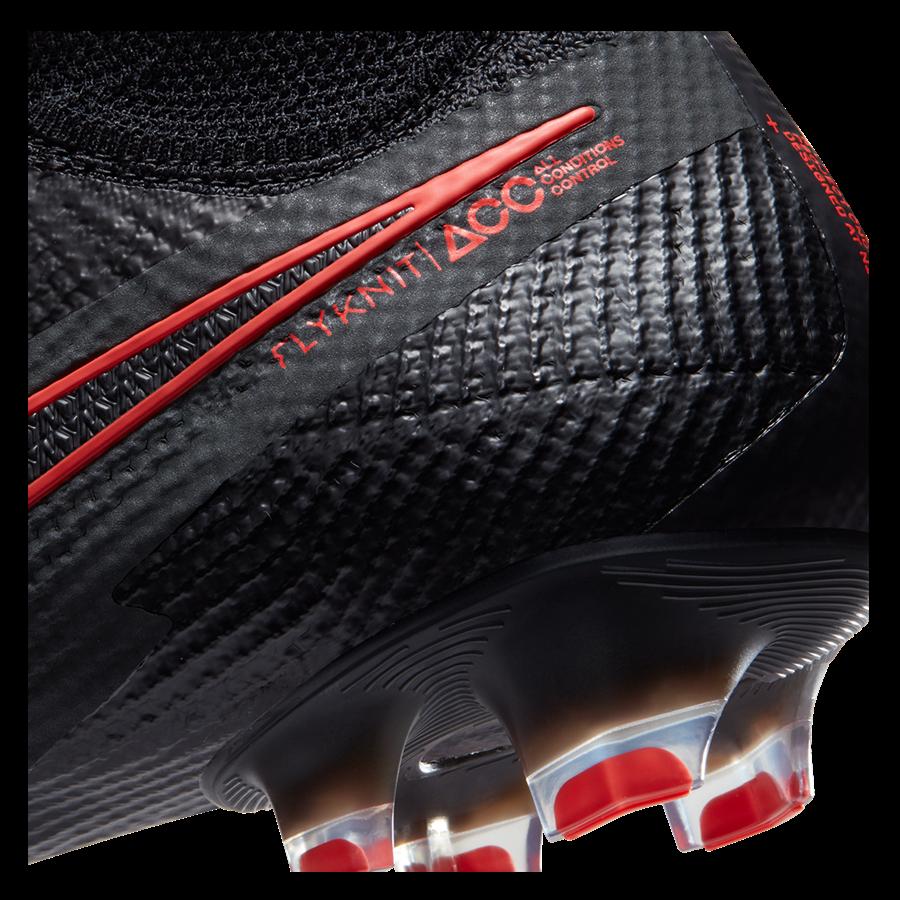 Nike Fußballschuh Mercurial Superfly VII Elite FG schwarz/rot Bild 8